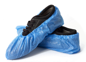 Disposable Shoe Cover Plastic And Non-Woven Plastic Shoe Covers